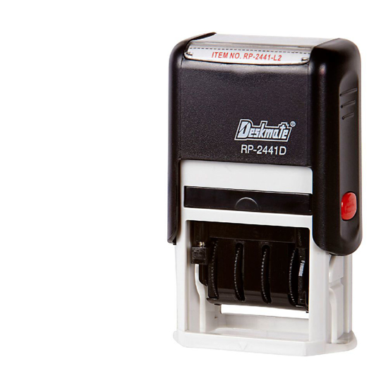 Picture of STAMP DESKMATE SELF INKING PAID/DATE BLUE