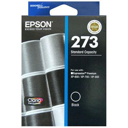 Picture of Epson 273 Black Ink Cartridge - 250 pages