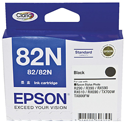 Picture of Epson 82N Black Ink