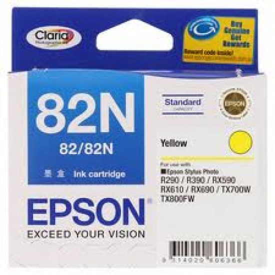 Picture of Epson (82N) Yellow Ink Cartridge