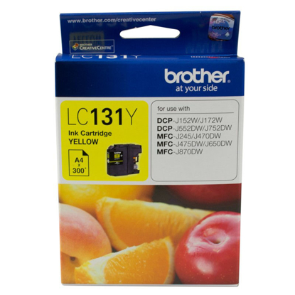 Picture of Brother  LC131 Yellow Ink