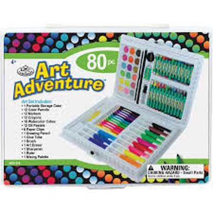 Picture of ART SET ROYAL BRUSH 80 PC