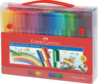 Picture of FABER-CASTELL 48 CLASSIC COLOUR PENCIL SKETCH SET TIN