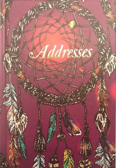Picture of ADDRESS BOOK A5 DREAM