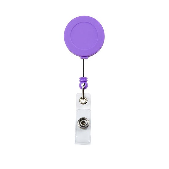 Picture of RXL BADGE REEL SOFT TOUCH PURPLE