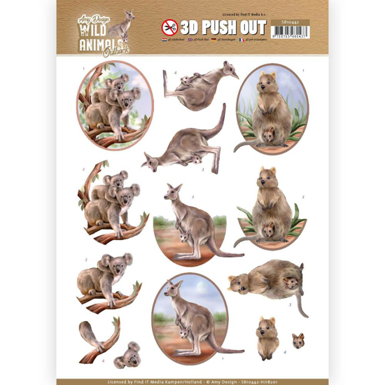 Picture of 3D WILD ANIMALS OUTBACK