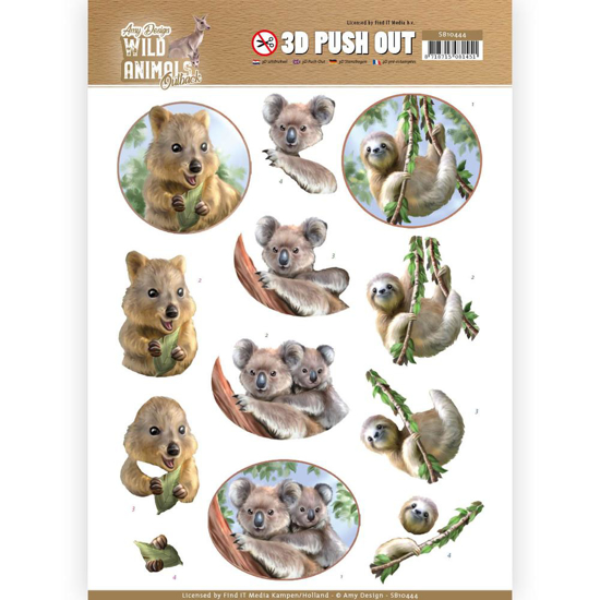Picture of 3D WILD ANIMALS OUTBACK KOALA