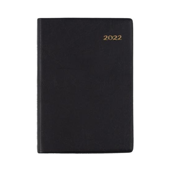 Picture of DIARY 2022 COLLINS A7 BELMONT PVC POCKET DTP BLACK