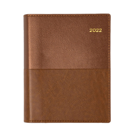 Picture of DIARY 2022 COLLINS A6 VANESSA DTP TAN