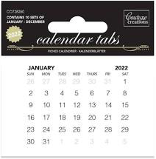 Picture of CALENDAR TABS 2022 10SETS